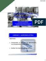 1.1 - Agroindustria Colombiana