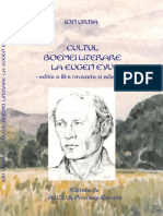 Cultul Boemei Literare La Eugen Evu, Ed.3