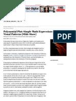 Polynomial plotsS