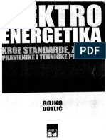 El.energetika Kroz Propise i Standarde-Gojko Dotlic