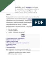 desarrollo organizacional del cambio.docx