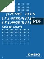 CASIO CFX 9850 GBPlus - Guía Del Usuario