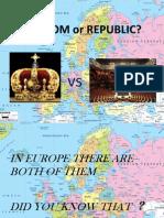 kingdom or republic
