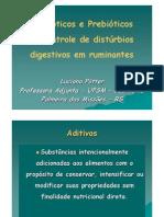 Dr Luciana Potter Probioticos e Prebioticos No Controle de Disturbios Digestivos Em Ruminantes