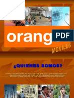 Introduccion Orange Moviles (ESPAÑA)
