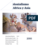 Colonialismo Africa y Asia