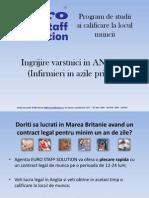 2.Programul - Ingrijire Varstnici in ANGLIA