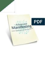 Advanced Manifesting Workbook