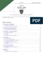 Stat 230 pdf