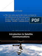 Satellite Communications course Lecture 1 for AASTMT