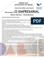 10 - XI Exame - Recurso Especial (Art. 105, III, A, CF) - Caderno de Prova