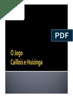 SLIDE_O Jogo Caillois e Huizinga