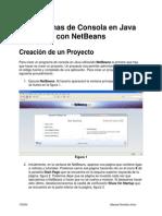 Programas de Consola en Java Con NetBeans