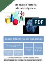 Teorías de Análisis Factorial Acerca de La Inteligencia
