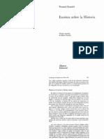 Braudel - Escritos Sobre La Historia