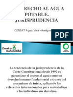 PRE_CENSAT_Jurisprudencia derecho al agua_2013_r1.ppt