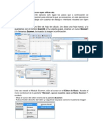 Cuadros de Dialogo Libre Office