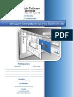 Software Computacional y Su Clasificación