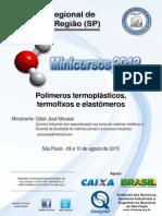 POLIMEROS Apostila Polimeros 0910082013 Site
