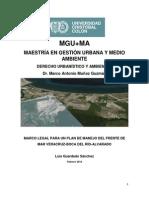 Analisis Legal Plan de Manejo de Frente de Mar Veracruz