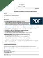 ryan field resume version 5