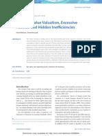 DCF Fair Value Valuation, Excessive Assets and Hidden Inefficiencies