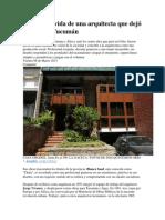 La Agitada Vida de Una Arquitecta Que Dejó Su Sello en Tucumán