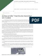 Justiça Proíbe _marcha Da Maconha_ Em Cuiabá _ RDNEWS - Notícias e Bastidores Da Política Em Mato Grosso 2008