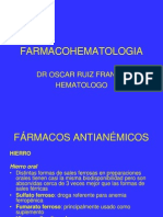 FARMACOHEMATOLOGIA usamedic