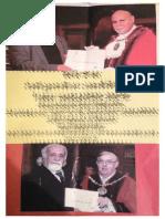 Three Mayors Election Leaflet