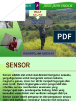 Pengertian dan jenis-jenis sensor