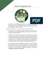 Manifiesto ECU