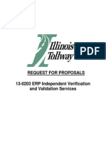 13-0203 ERP Independent Verification and Validation Services