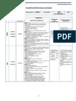 Lenguaje Planificacion - 8 Basico