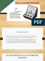 Voltímetro Con Rectificador 1.1
