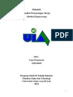 Makalah Method Engineering Teknik Industri