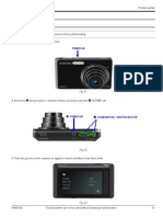 Firmware Update for camera samsung ST-500