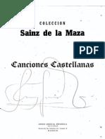 Sainz de La Maza - Cancines Castellanas