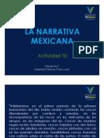 Narrativa mexicana
