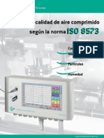 Medidor de Aire Comprimido ISO 8573br