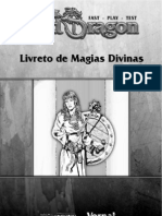 OldDragon -FastPlayTest Magias Divinas