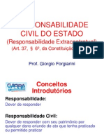 Responsabilidade Civil Do Estado GARRA