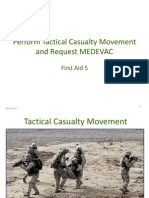 First Aid 5 (Perform Tactical Casualty Movement) 805-B-2021 Ver x Slides