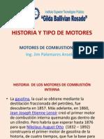 1.- Historia y Tipo de Motores