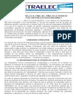 Comunicado Fetraelec Jun 2013