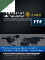 It Capital Productos Internacionales
