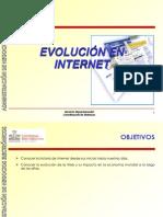 Evolucion en Internet