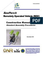SeaPerch ROV Construction Manual - Standard Assembly - Version 2010-02 - DS013011