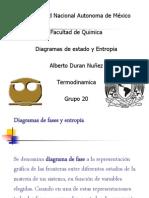 Diagrama de Fases y Entropia Final