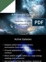 A Primordial Quasar